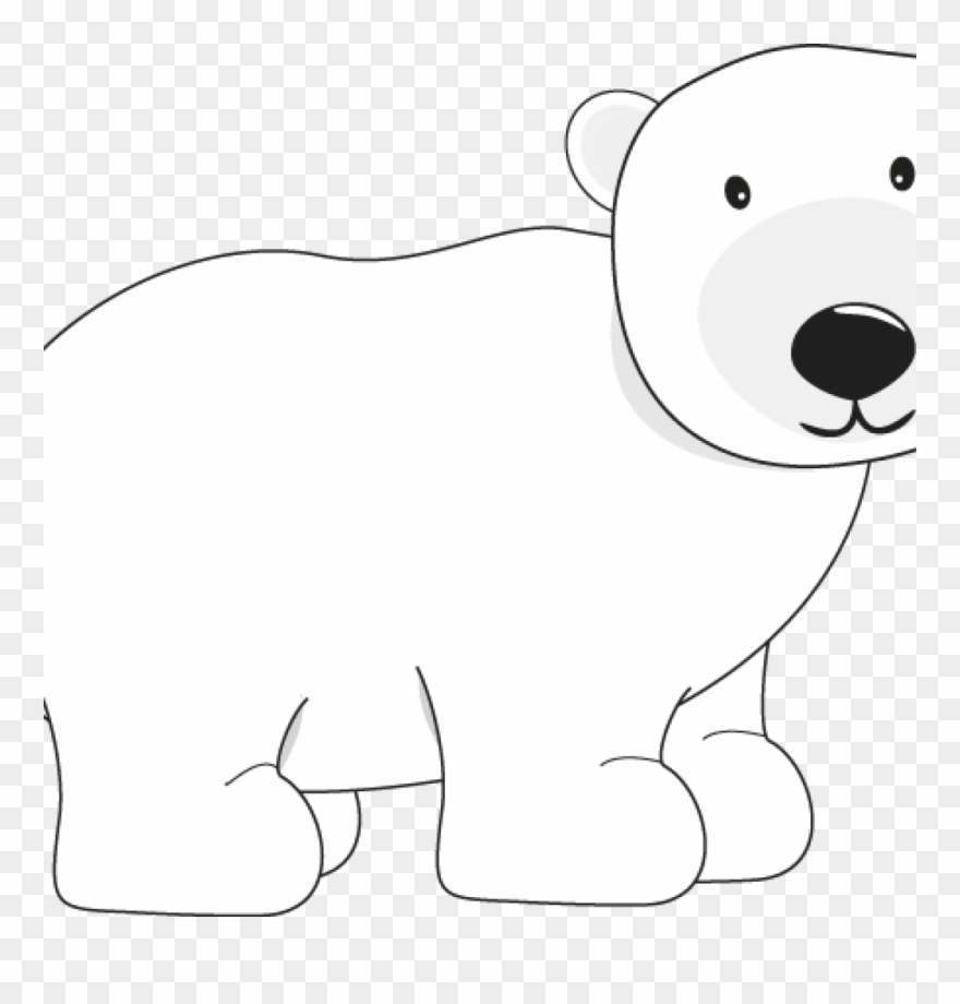 Polar Bear Clipart Polar Bear Bear Clip Art Pinterest.