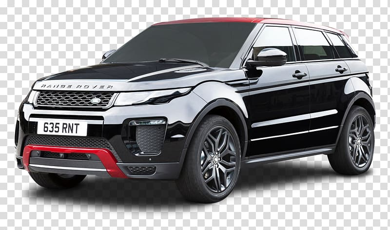 Range Rover Evoque transparent background PNG cliparts free.