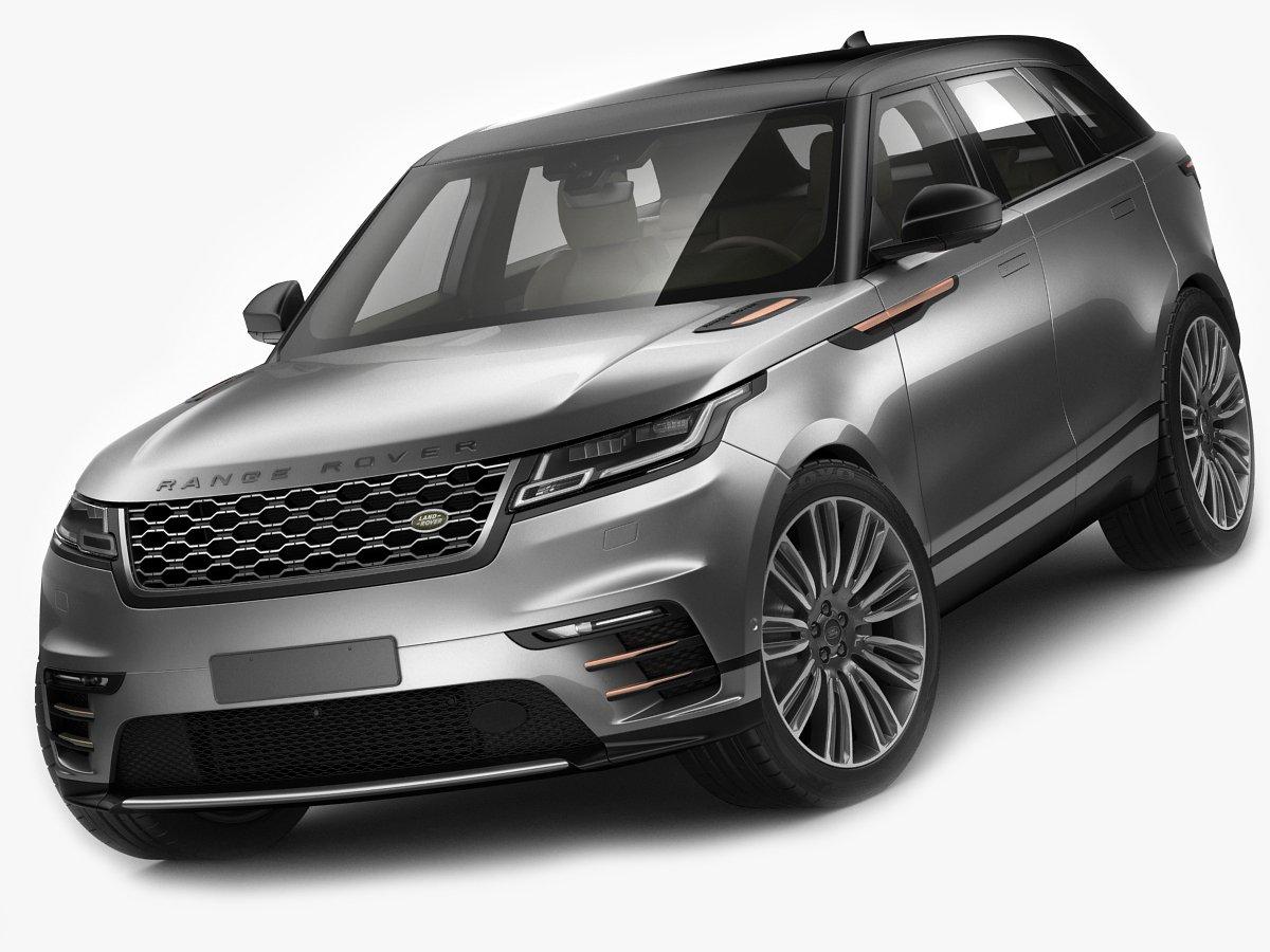 Land Rover Range Rover Velar 2018 3D Model in SUV 3DExport.