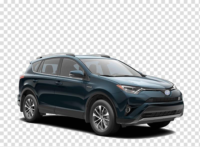 Compact sport utility vehicle 2018 Toyota RAV4 Hybrid.