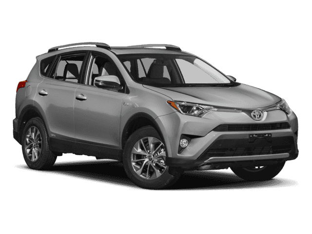 New 2018 Toyota RAV4 Hybrid XLE AWD.