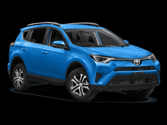New 2018 Toyota RAV4 LE FWD Sport Utility.