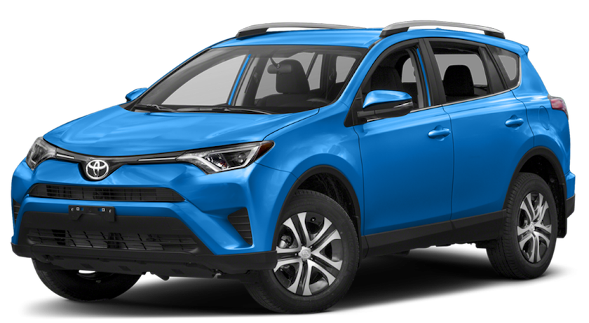 2018 Toyota RAV4.
