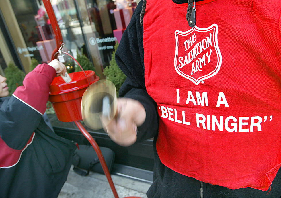 Salvation Army Red Kettle Campaign Begins Today.