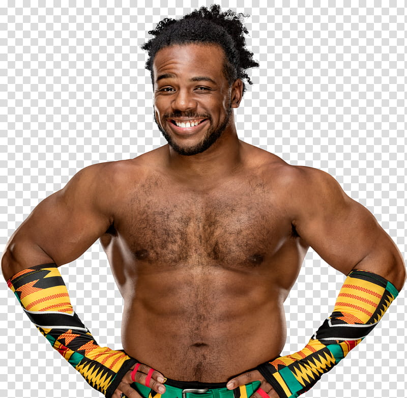 Xavier Woods Stats transparent background PNG clipart.
