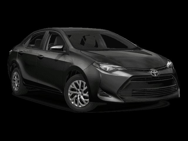 New 2018 Toyota Corolla LE FWD 4dr Car.
