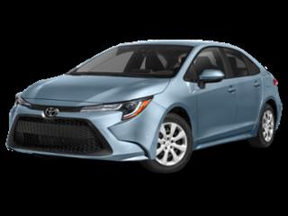 2018 Toyota Corolla LE.