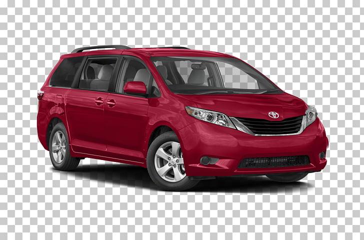 2018 Toyota Sienna Car Minivan, toyota PNG clipart.
