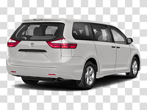 2018 Toyota Sienna Limited Premium PNG clipart images free.