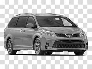2018 Toyota Sienna Xle Premium transparent background PNG.