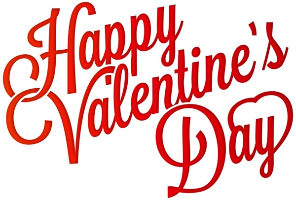 992 Happy Valentines Day free clipart.