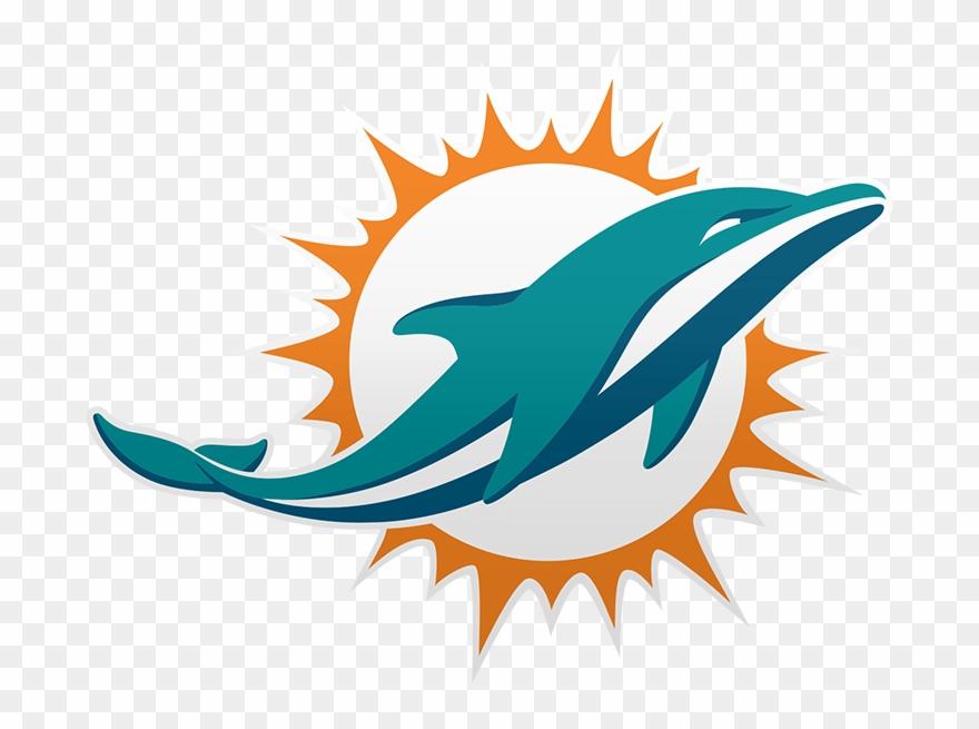 Miami Dolphins Logo 2018 Clipart (#1860643).