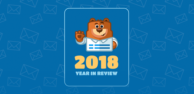 WPForms 2018 Year in Review (Annual Report).
