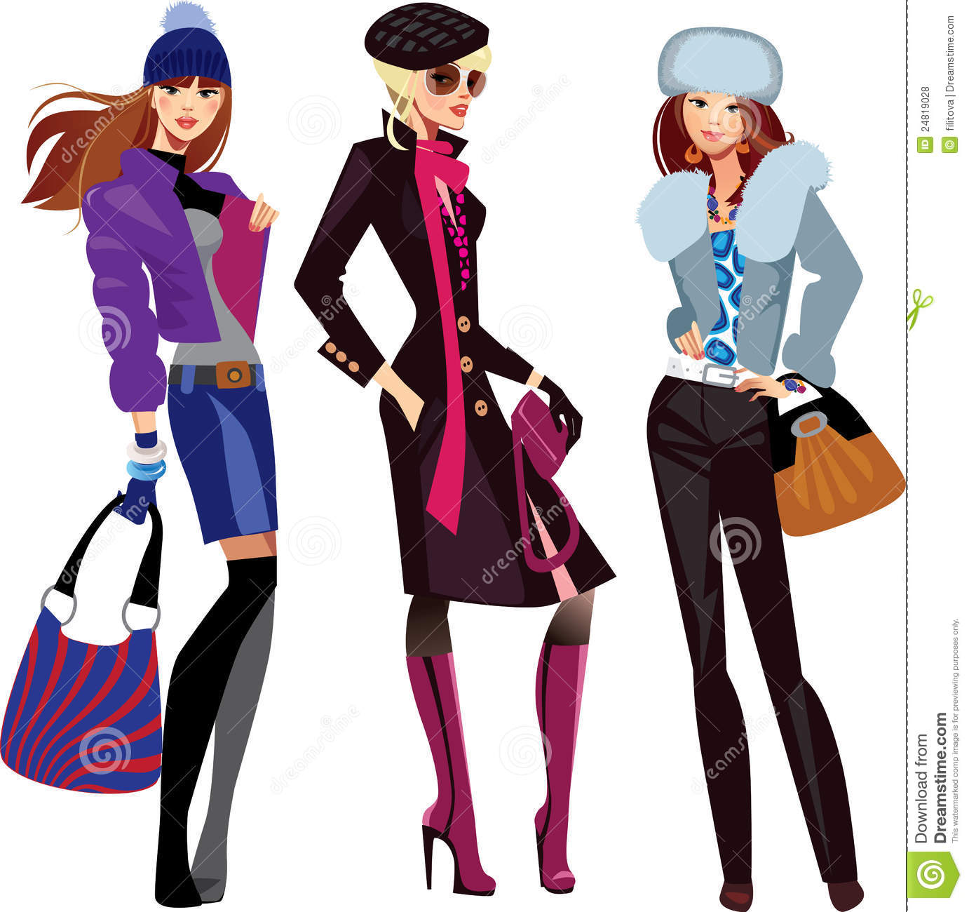 Women fashion clipart images gallery for Free Download.