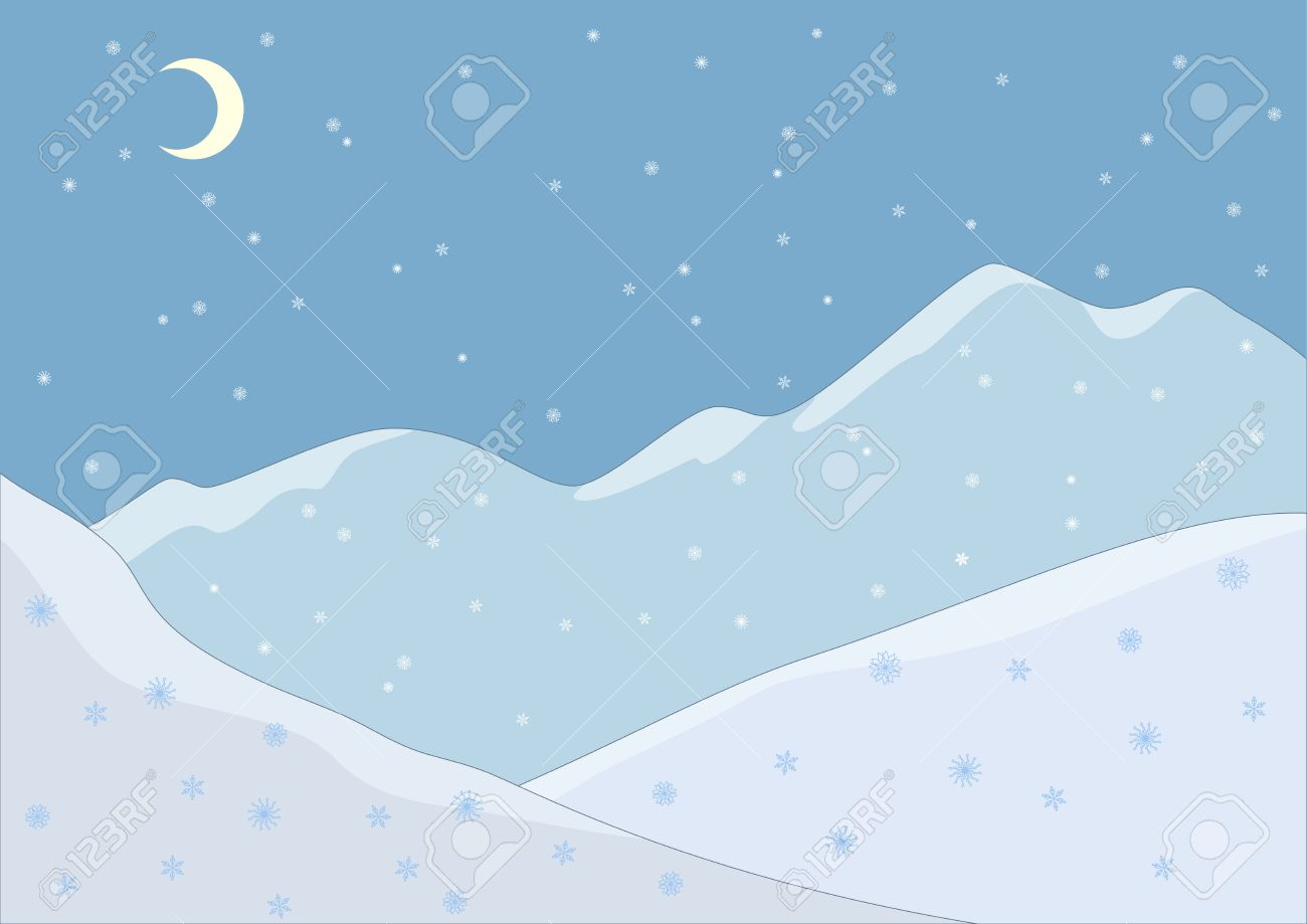 Snow covered mountain clipart 4 » Clipart Station.