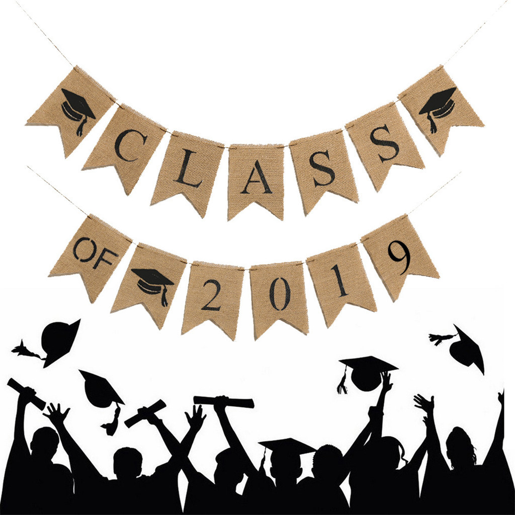 2019 New Arrivals Graduation Bunting Banner CLASS OF 2019.