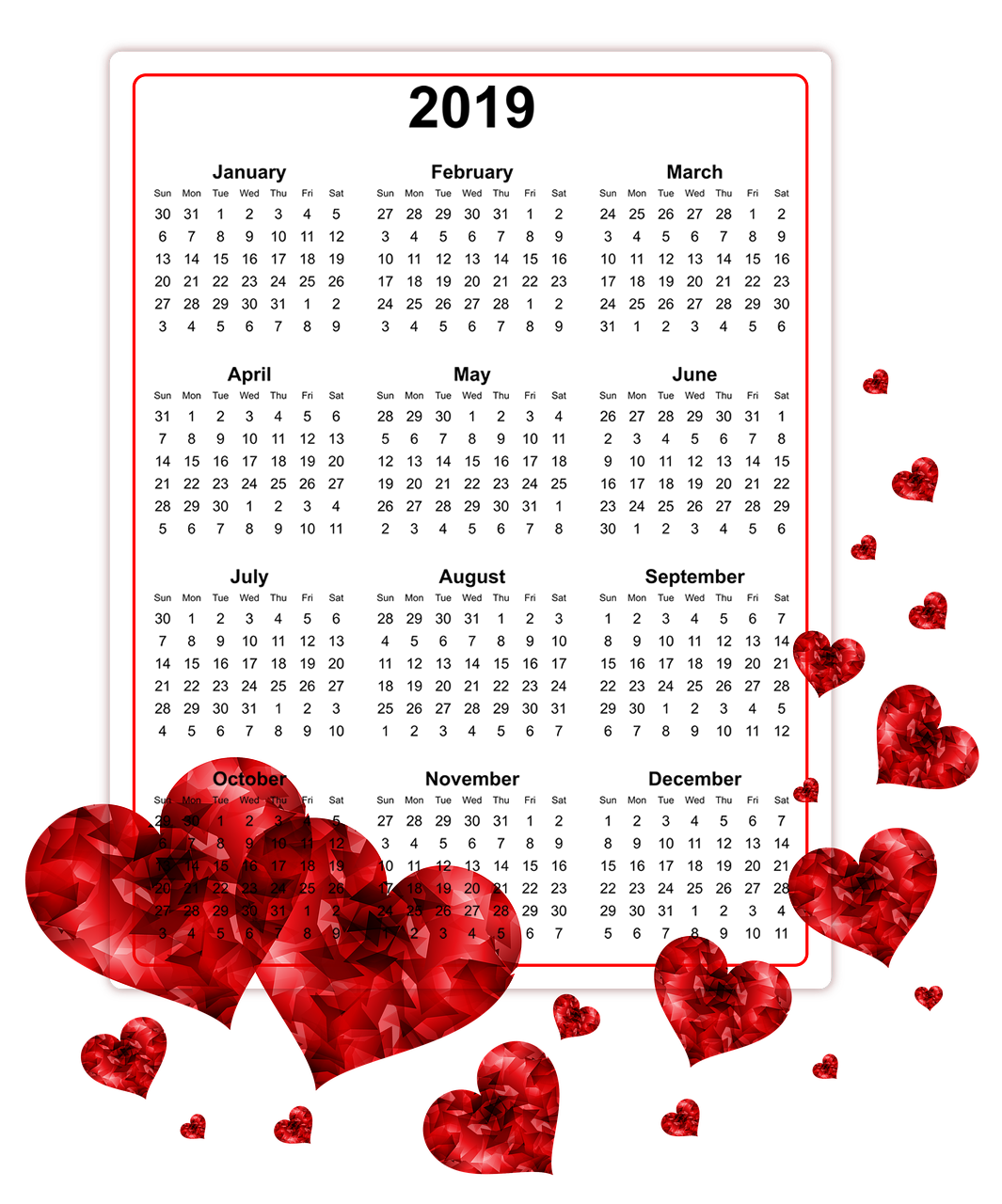 Download 2019 Printable Calendars.png.