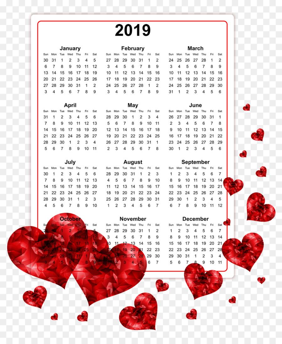 Online calendar Time Year Clip art.