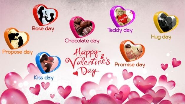 Valentine Week Full Schedule 2020.