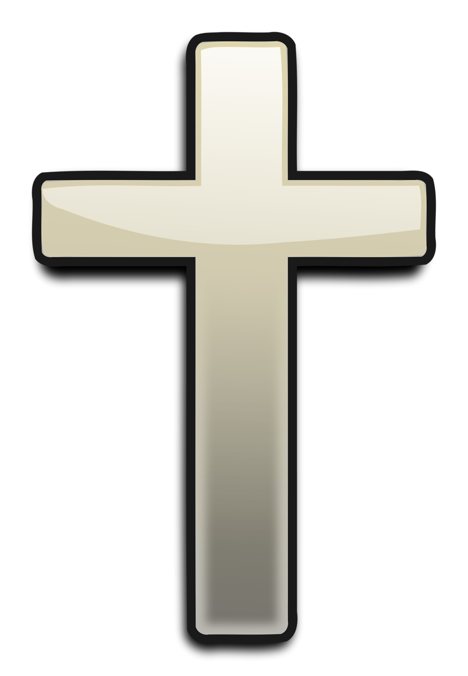 Cross With Transparent Background Clipart.