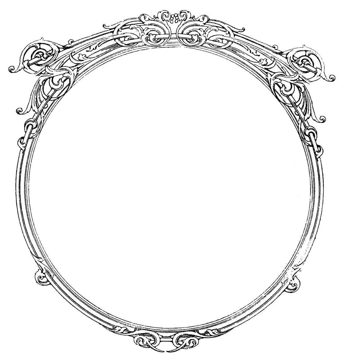 2019 circular silver clipart clipart images gallery for free.