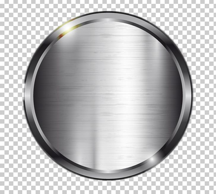 Metal Silver Computer File PNG, Clipart, Button, Circle.