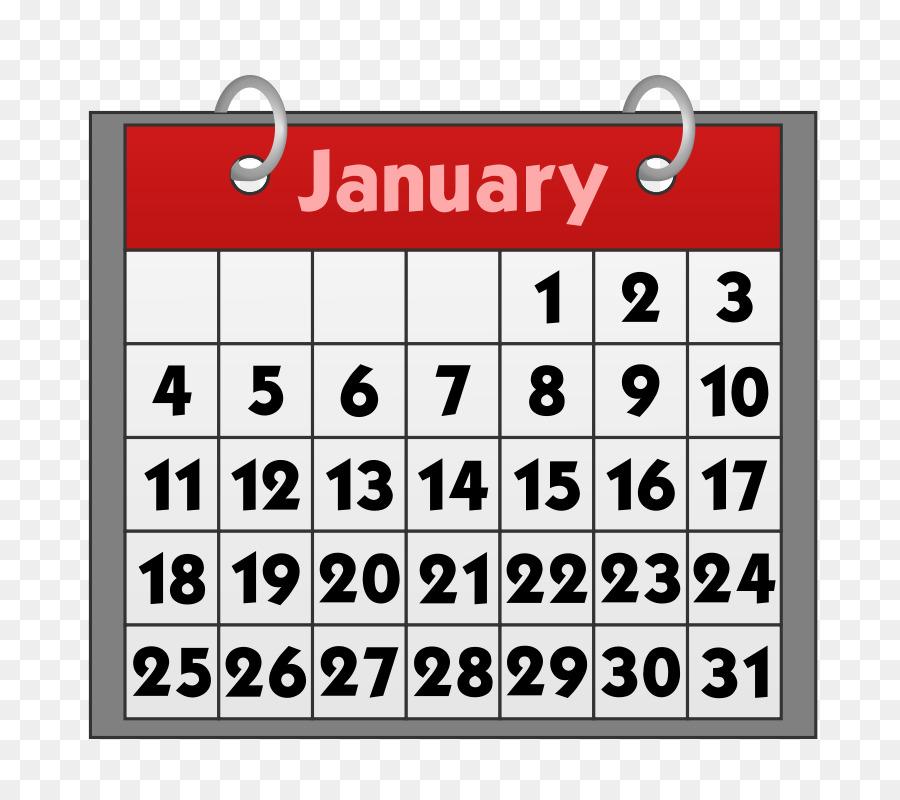 Calendar 2019 clipart.
