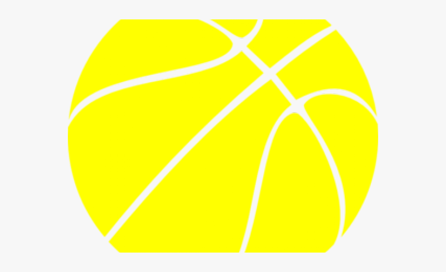 Basketball Clipart Yellow.