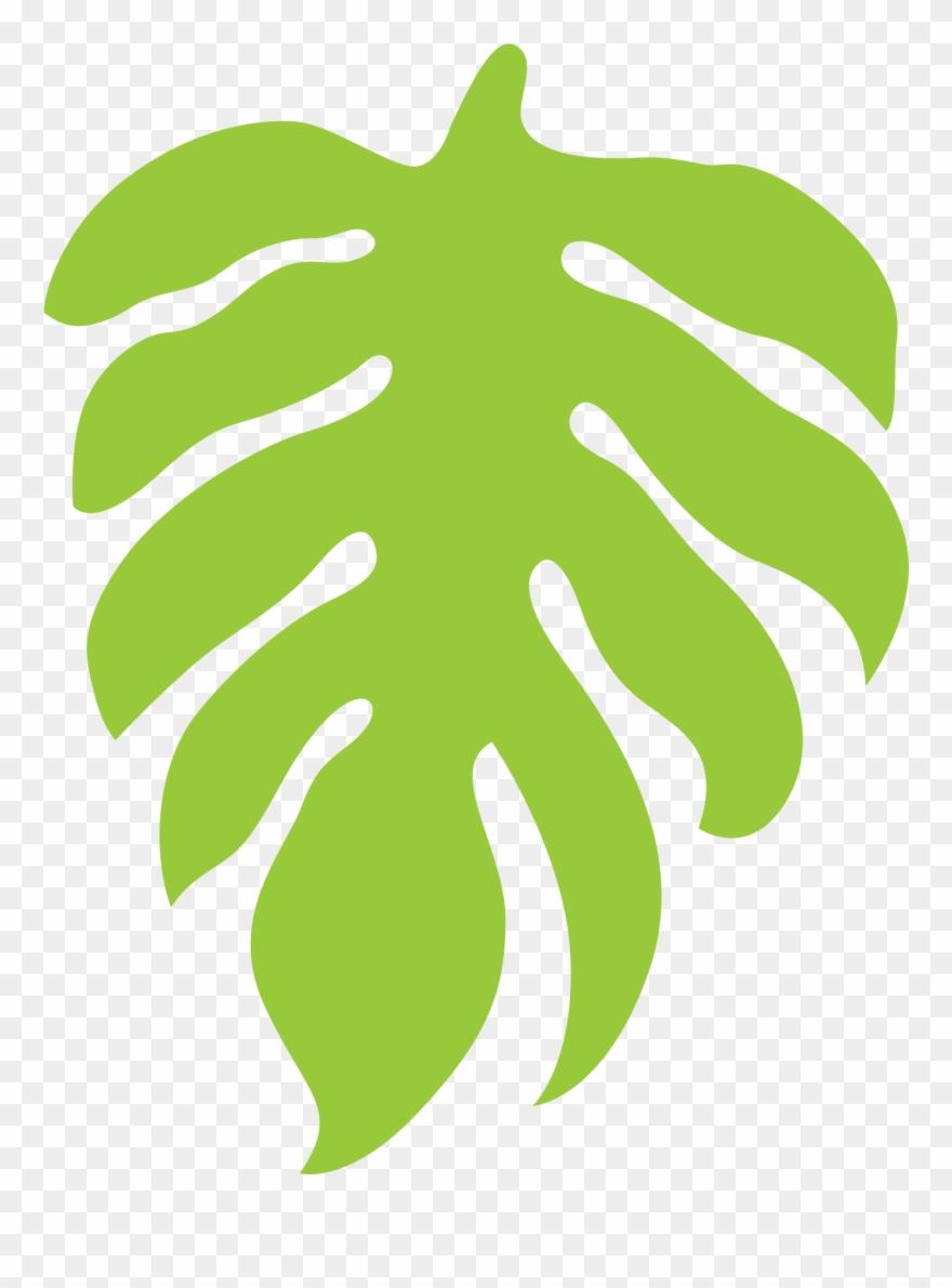2019 Light Green Jungle Leaf.