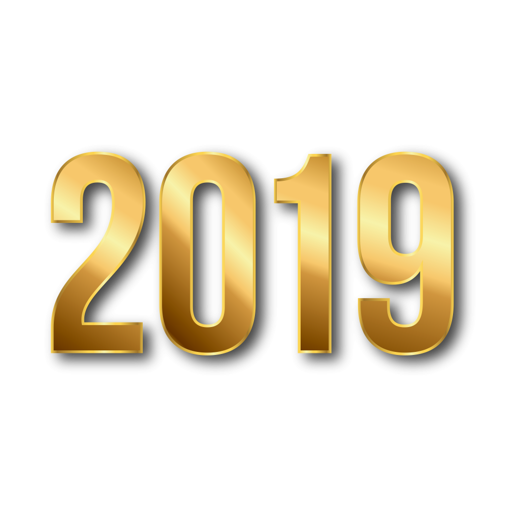 2019 Year PNG Free Download 2019 Clipart And Backgrounds.