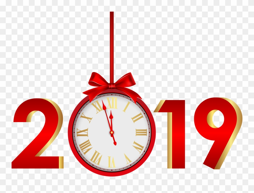 Happy New Year 2019 Png Hd , Png Download.