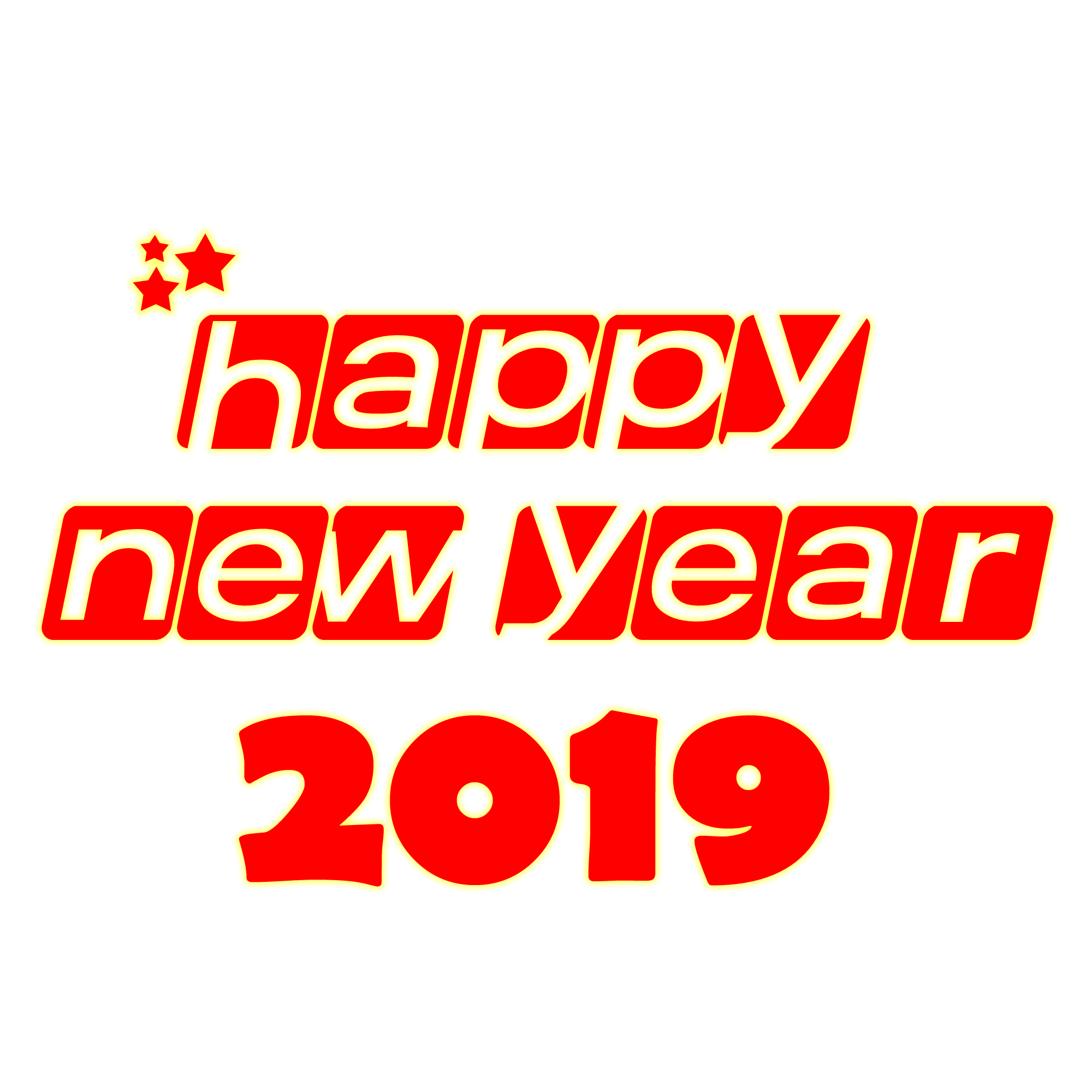 2019 happy new year transparent background.png.