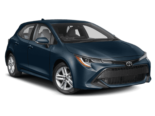 New 2019 Toyota Corolla Hatchback SE FWD Hatchback.