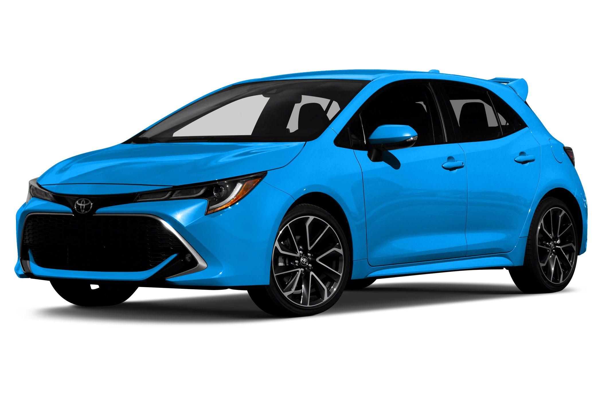 New 2019 Toyota Corolla Hatchback.