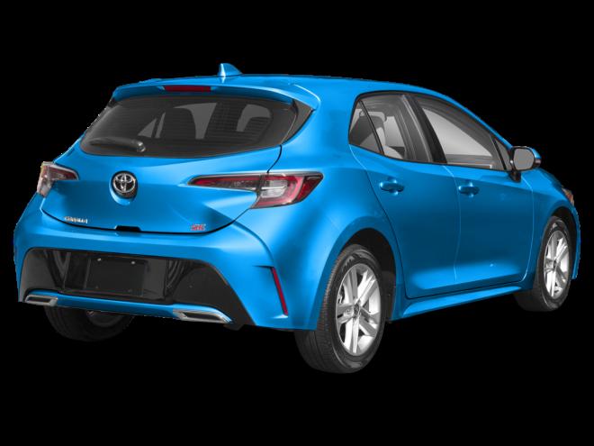 2019 Toyota Corolla Hatchback Manual.