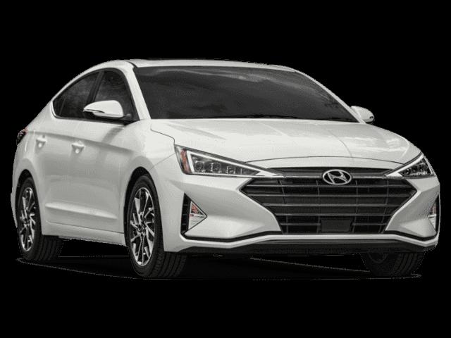 New 2019 Hyundai Elantra SEL Front.