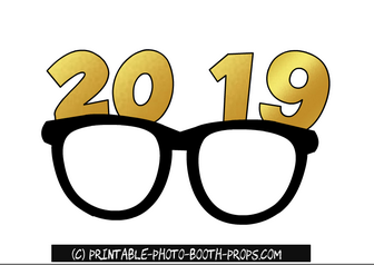 Clipart glasses new year, Clipart glasses new year.