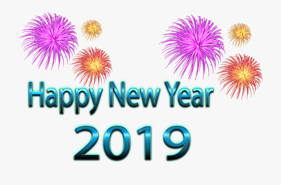Stock Free Free Happy New Year 2019 Clipart Download.