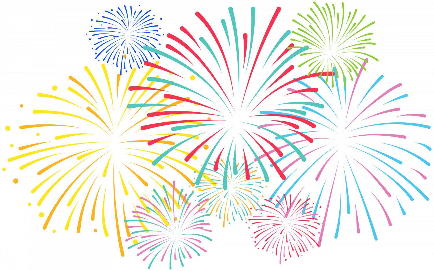 Happy Birthday Anne Images Fireworks Clipart.