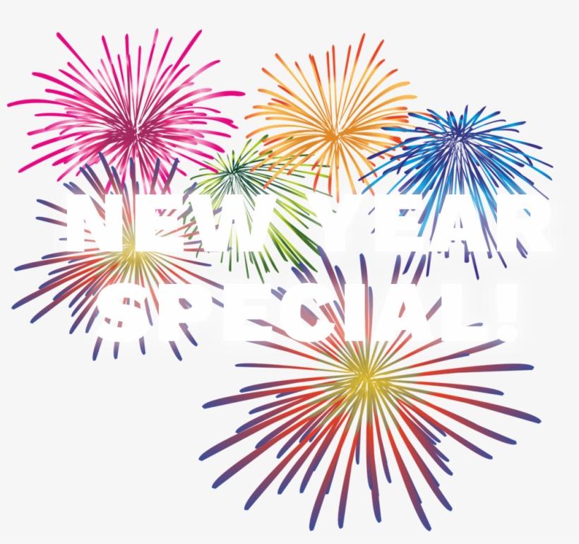 2019 fireworks clipart #6