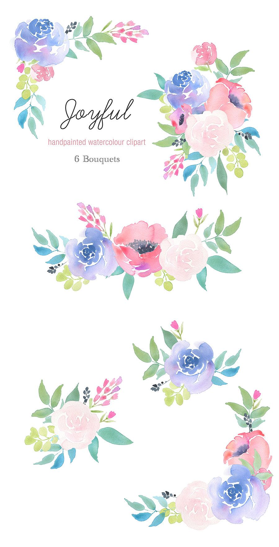 Pin by Law Carmen on Watercolour (Floral) in 2019.