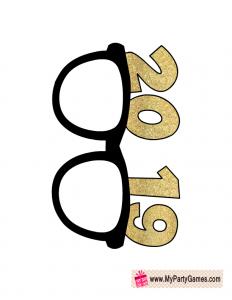 2019 Sun Glasses Prop.