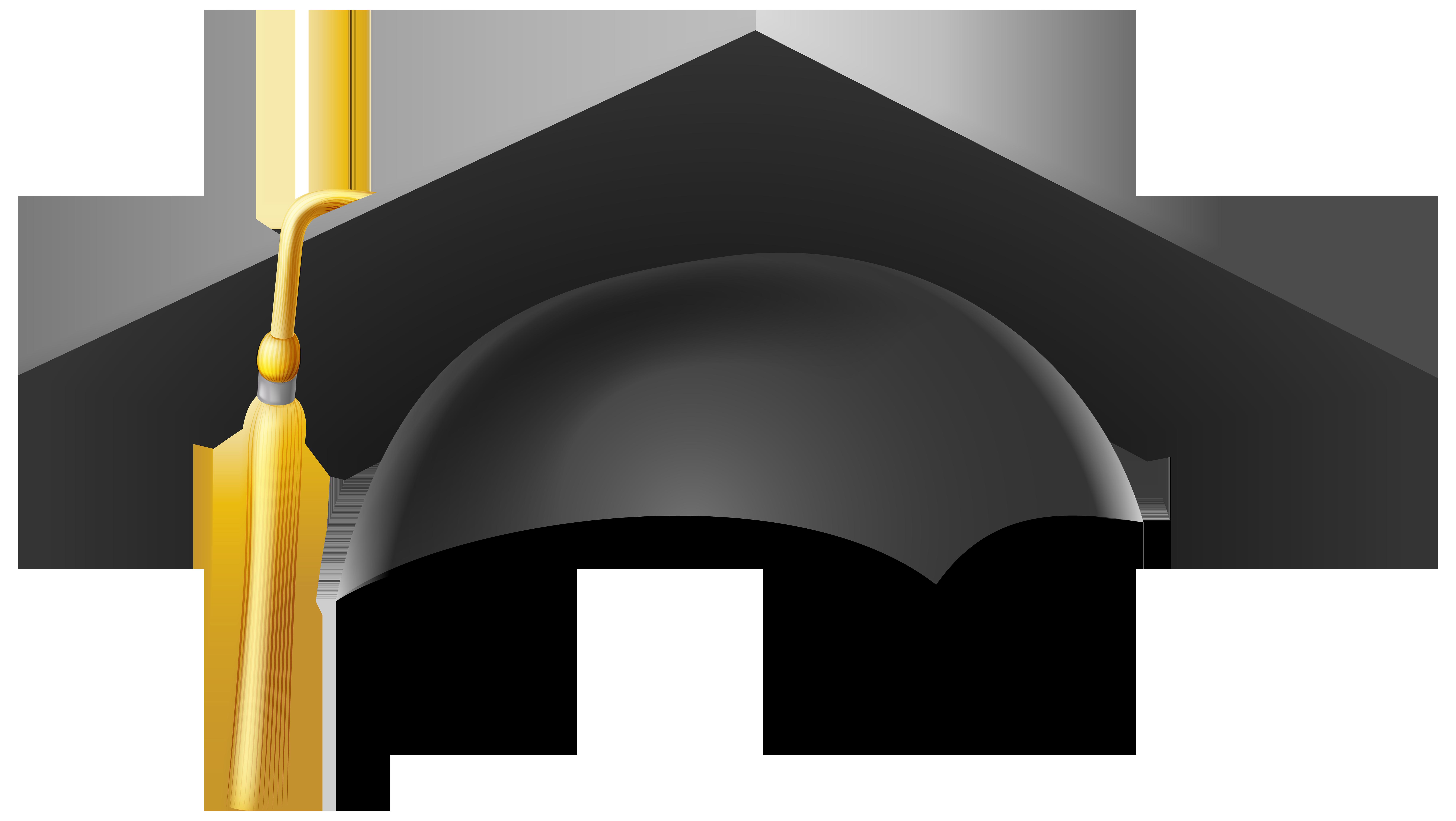 Graduation Cap PNG Clip Art Image.