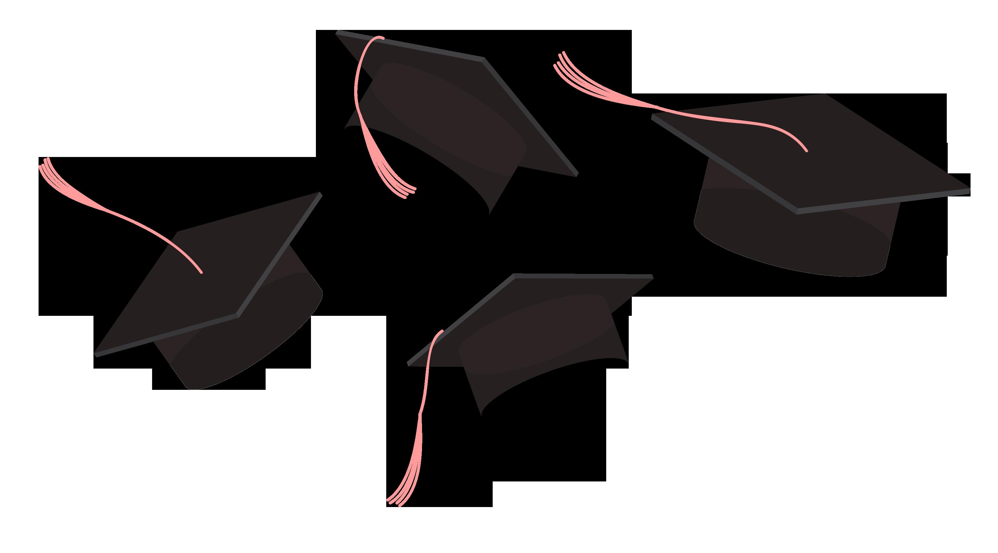 Graduation ceremony Poster Icon.