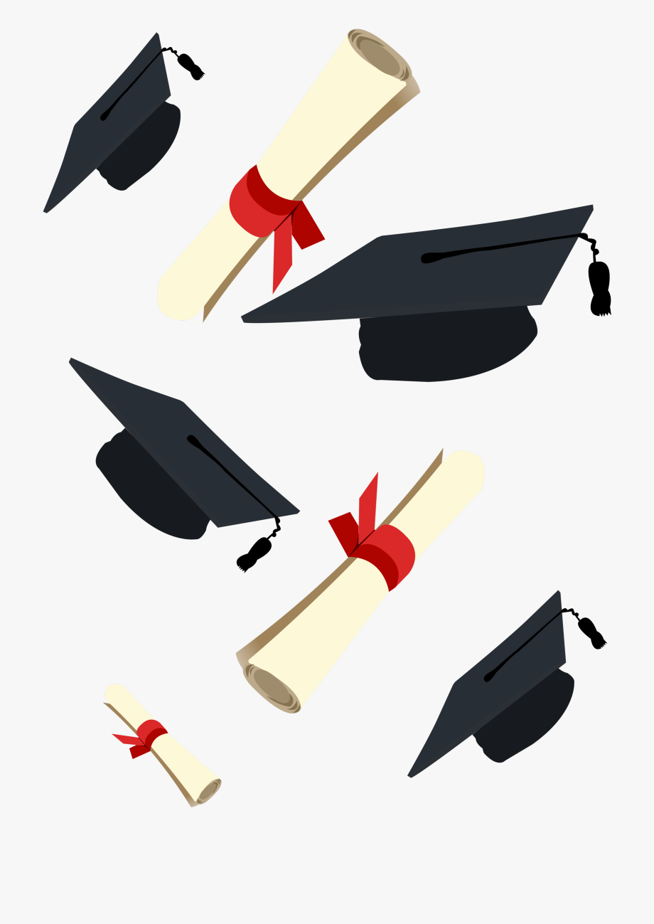 Diploma Clipart Graduation Ceremony.