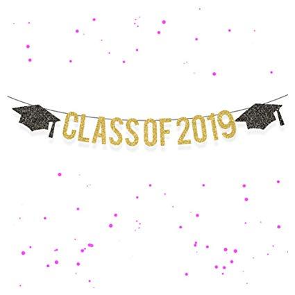 CC HOME Class of 2019 Graduation Banner Decorations.