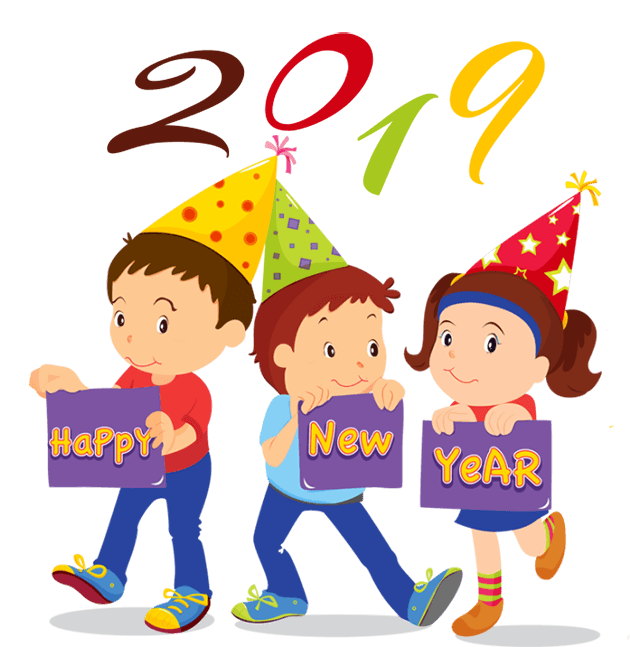Happy New Year Clipart & Graphics 2020.