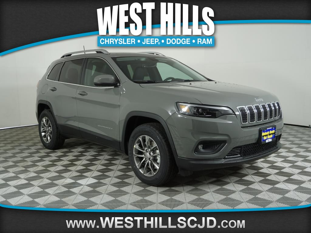New 2019 Jeep Cherokee Latitude Plus AWD.