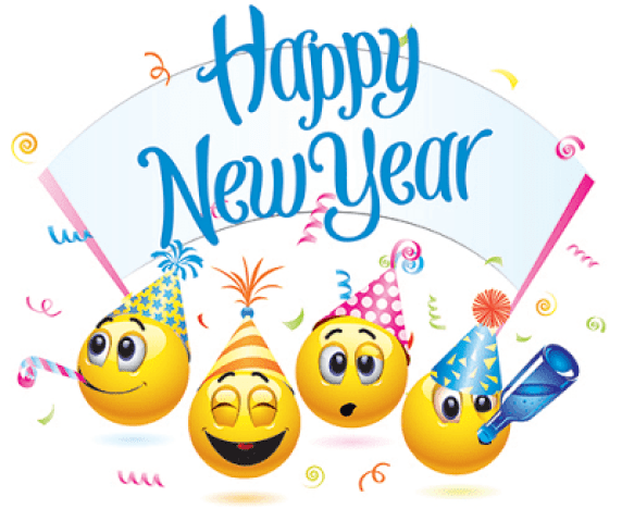 Happy New Year Clipart Animated 2019 Clip Art Free Antique Years.
