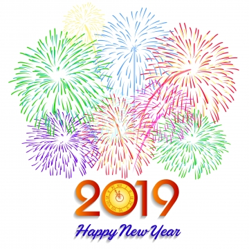 New Year Countdown PNG Images.